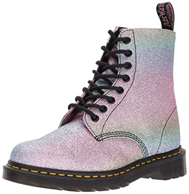 1e4b22bffa0d Dr. Martens Women s Pascal GLTR Ankle Boot Glitter 3 Medium UK (5 ...