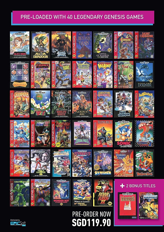 Amazon.com: SEGA Genesis Mini [Asia Import]: Video Games