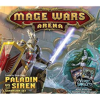 Mage Wars Arena: Paladin vs Siren Expansion Board Game