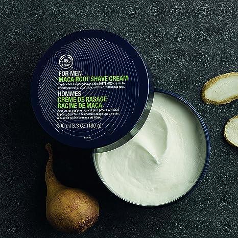 for men maca root shave cream