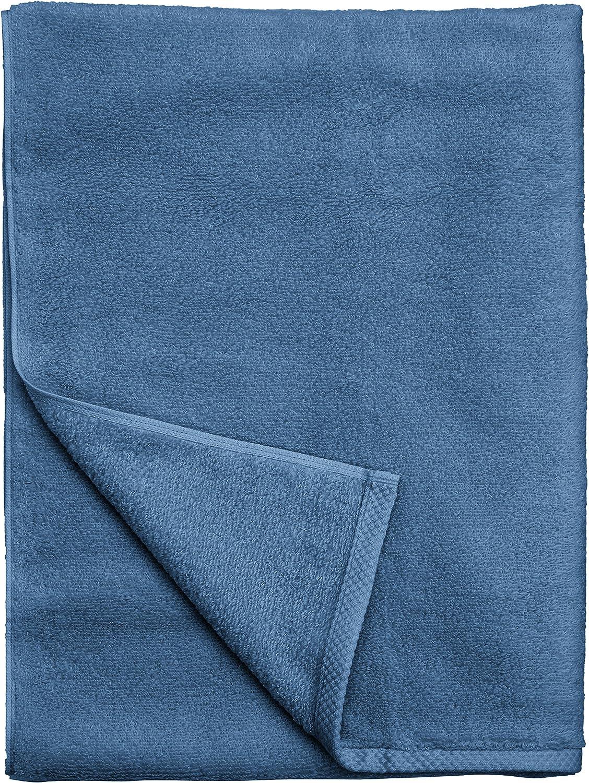 absorbentes Juego de 2 toallas de ba/ño 100/% algod/ón polvo con dise/ño de flores calidad fabricada en Turkey de algod/ón de secado r/ápido TAC 85 x 150 cm