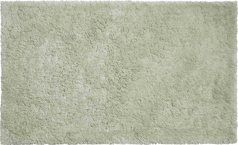 Grund Luxor Tappeto per Il Bagno 50 x 80 cm Grigio Ciottolo Cotone Organico