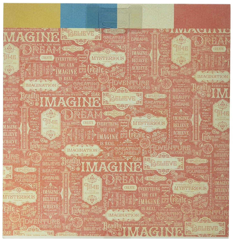 Graphic 45/Papier Pad Gr/ö/ße L mehrfarbig