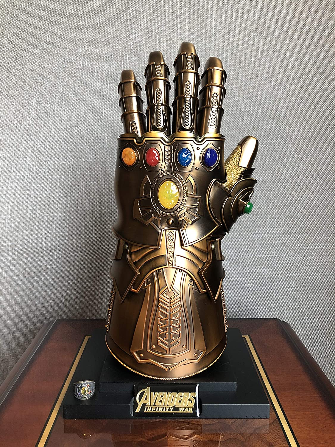 Infinity Gauntlet Full Metal 1:1 Wearable Cosplay Infinity Stones New IN STOCK