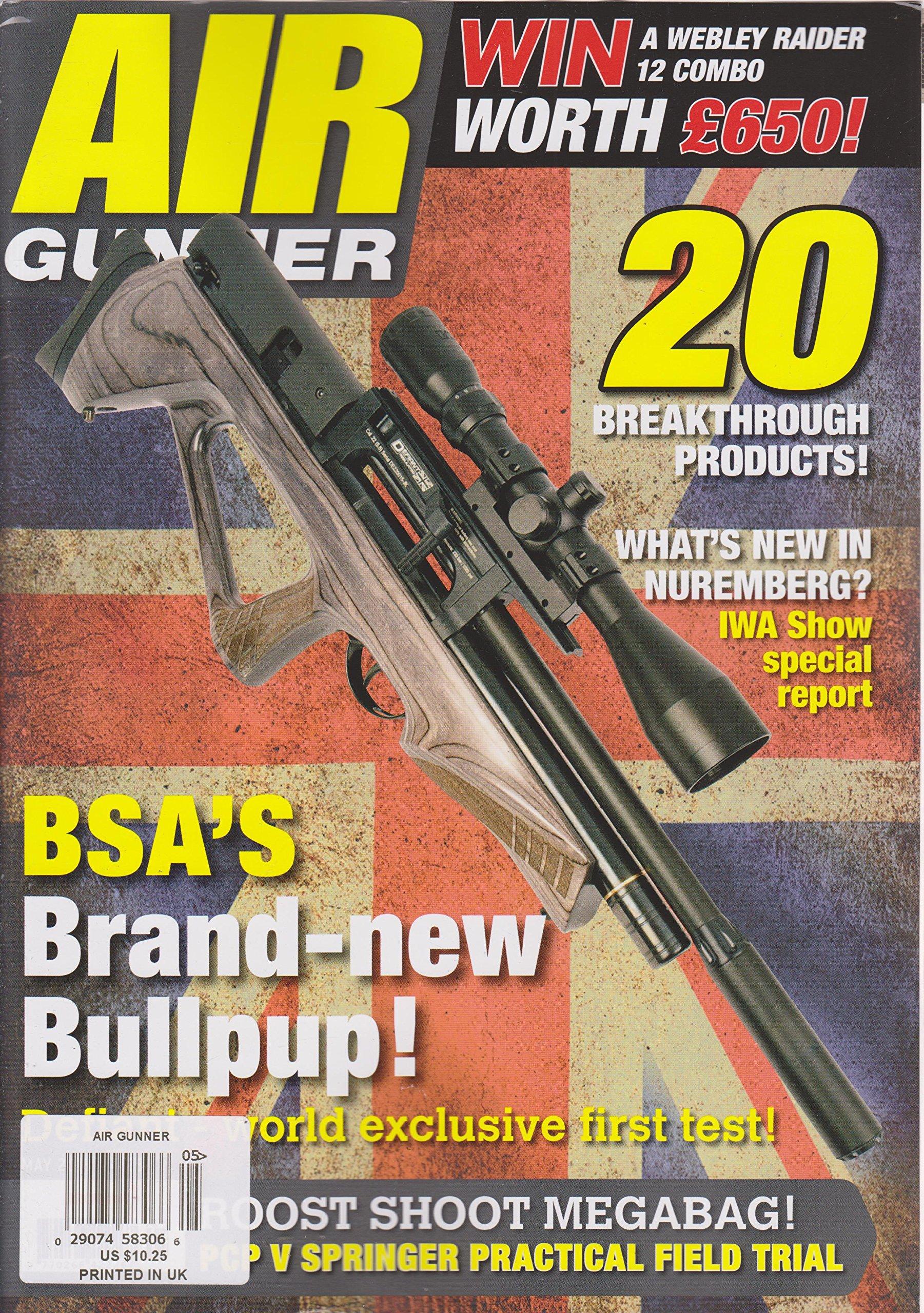 Read Online Air Gunner Magazine May 2018 pdf epub
