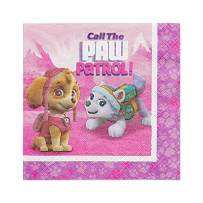 American Greetings Paw Patrol Paper Lunch Napkins for Kids (48-Count): Toys & Games
