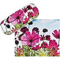 von Lilienfeld Estuche Gafas Prado de flores Funda Ligeramente Estable Colorido Paño de limpieza