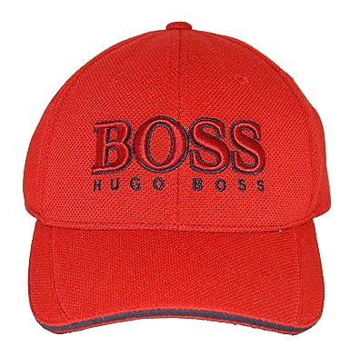 c83be166657 BOSS Hugo Cap US 50251244 Red  Amazon.co.uk  Clothing
