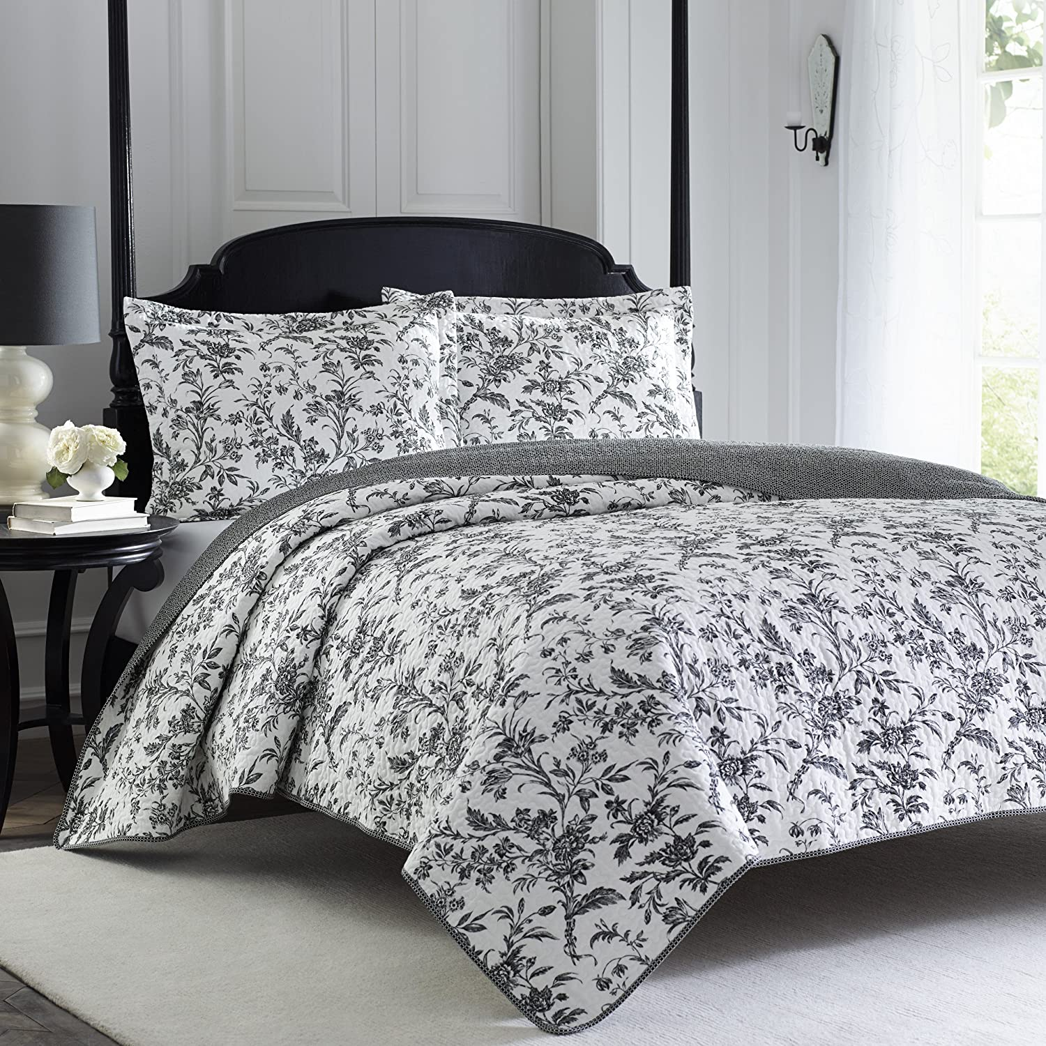 Laura Ashley Amberley Quilt Set, Twin A1Db-ipmBkL