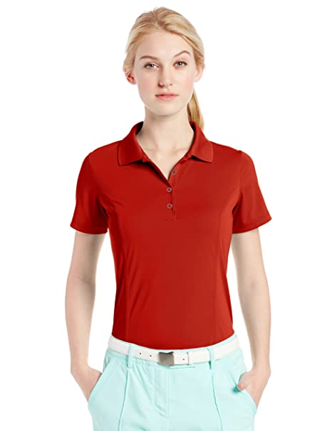 adidas Golf Mujer Puremotion Solid Jersey Polo para Hombre: Amazon ...