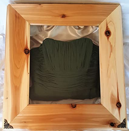 Amazon.com: Wedding Dress Preservation Box (20X24X5.5) DISPLAY CASE ...