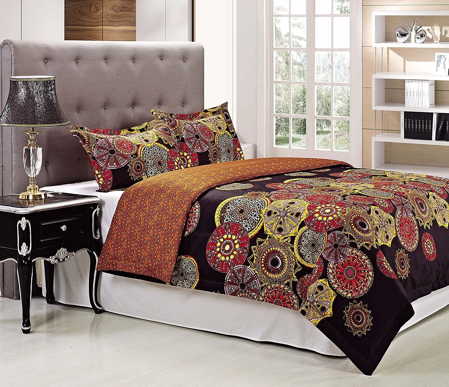 300 Thread Count Sunburst Duvet Cover Set
