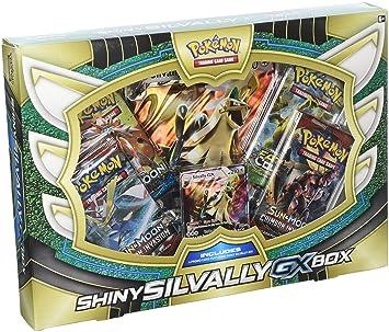 Pokémon TCG: caja de colección premium silvally gx brillante: Amazon.es: Juguetes y juegos