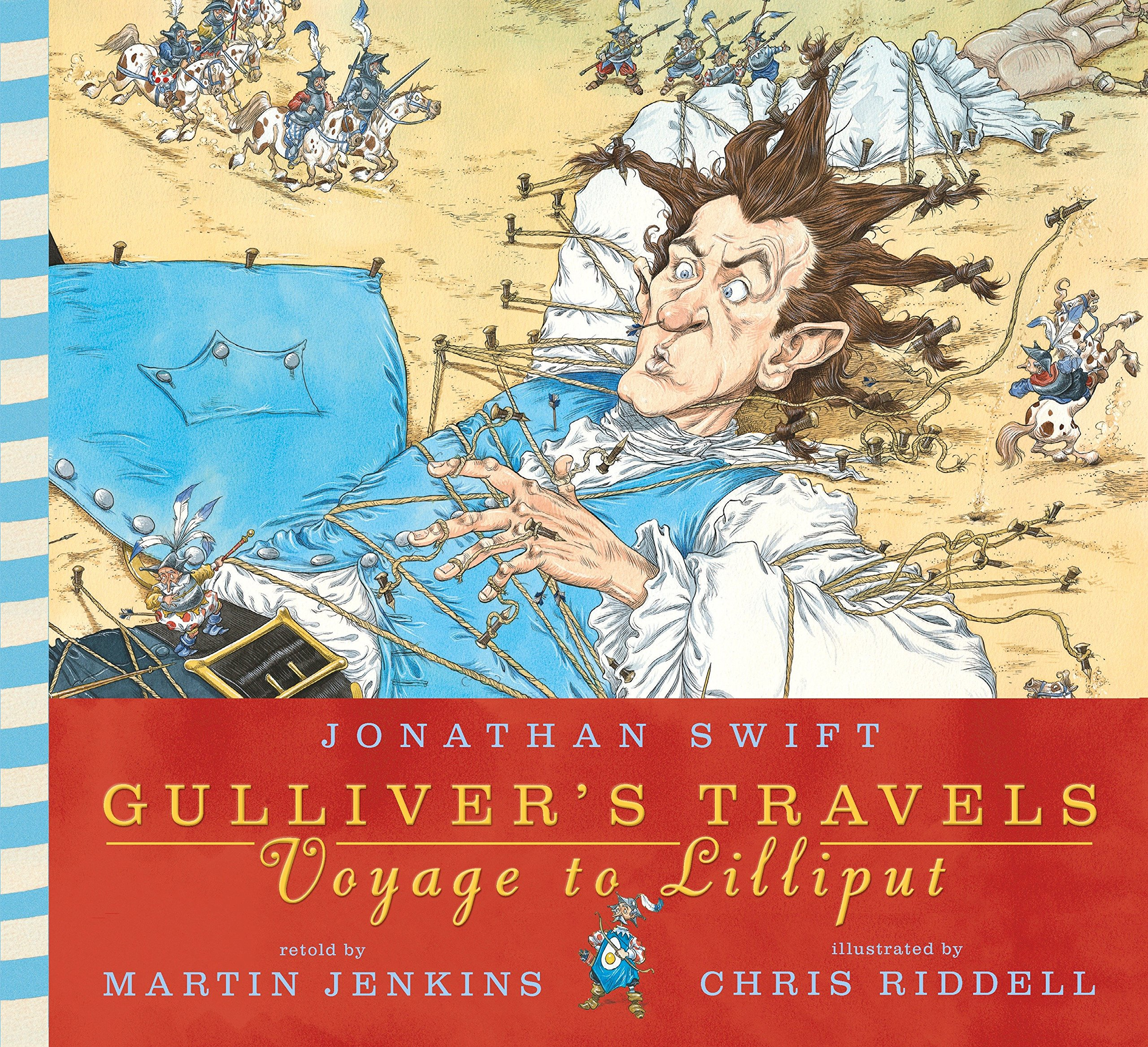 Image result for Chris Riddell Gulliver's Travels