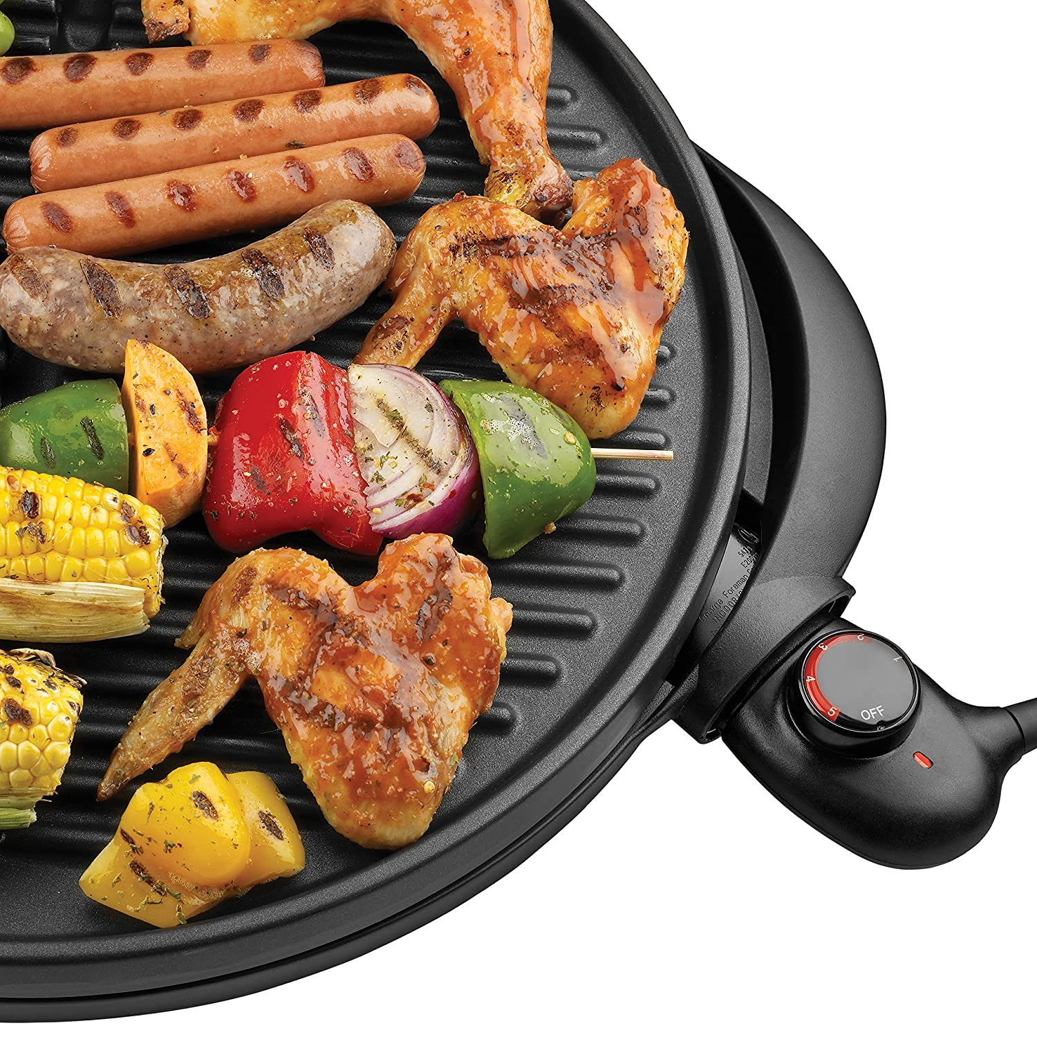 George Foreman GGR240L 15-Serving Indoor/Outdoor Grill