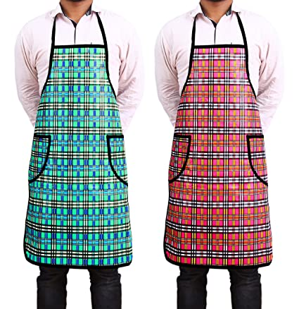 Novicz Water-Proof Rexene Kitchen Apron Abstract, Multicolour