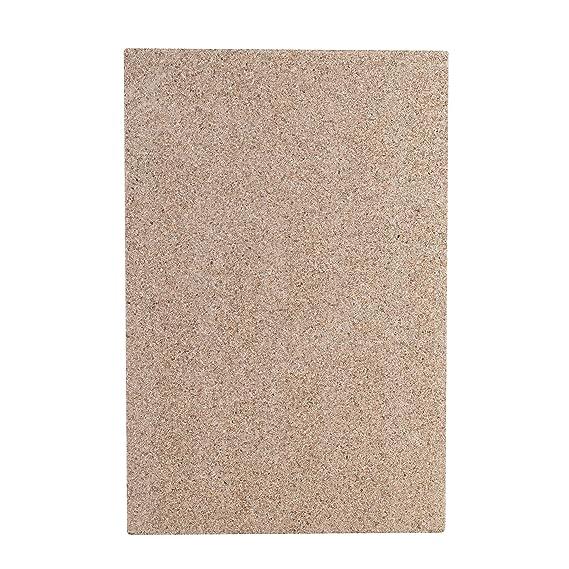 Kamino-Flam - Plancha de vermiculita, Placa protectora para chimenea, estufa, horno, Panel ignífugo de vermiculita - resistente a altas temperaturas hasta ...