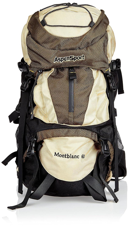 Talla 70 x 37 x 23 cm Macuto de Senderismo Color AspenSport Rucksack Mont Blanc