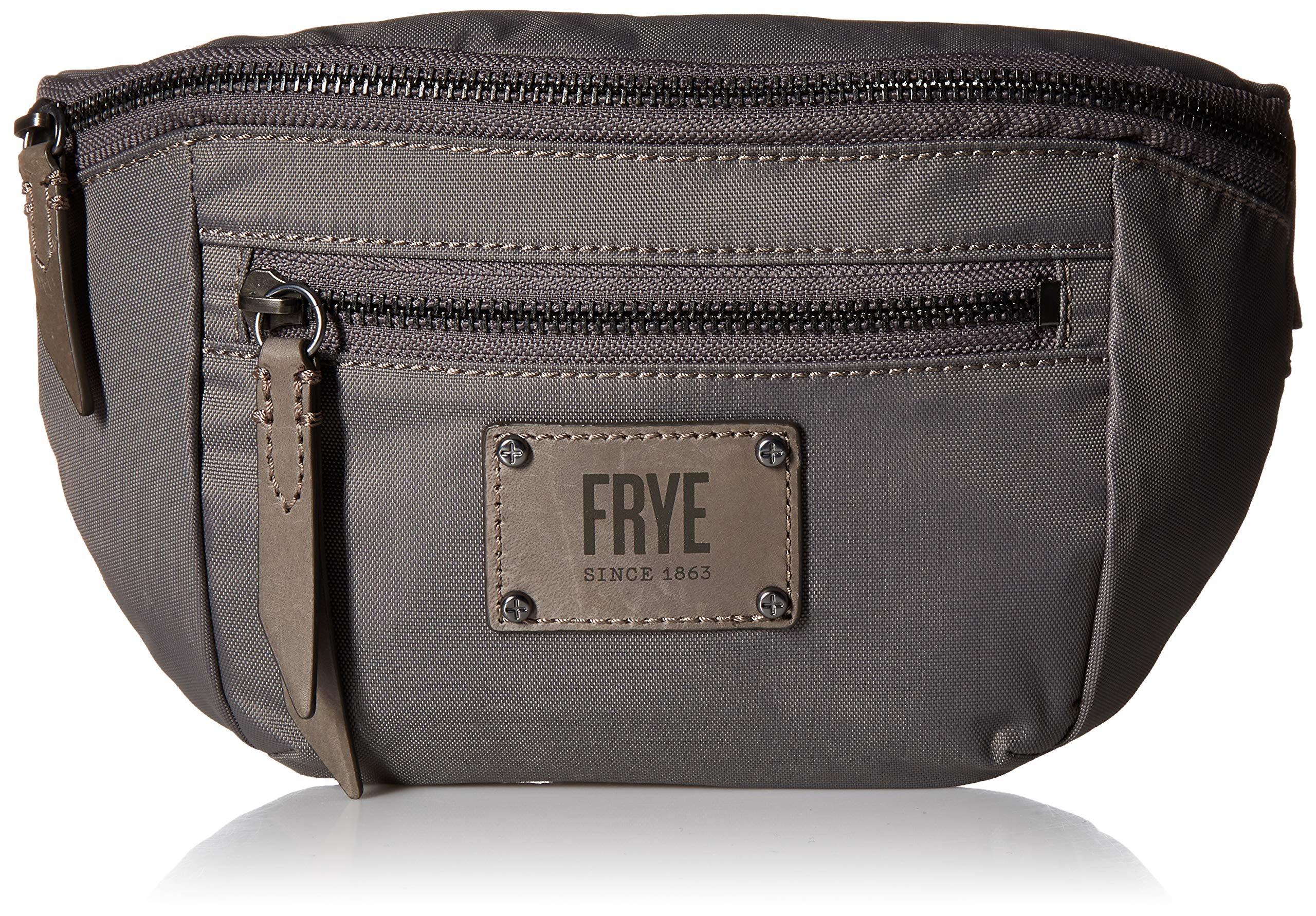 Frye Ivy Nylon Convertible Crossbody Belt Bag, Matte Grey, One Size