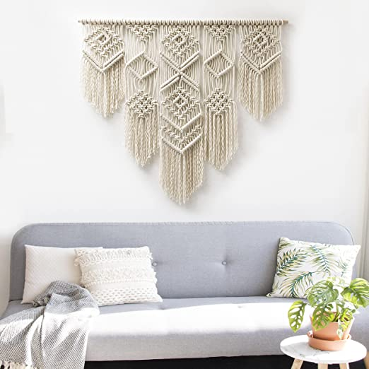 Amazon.com: Bohemian Macrame Wall Decor Boho Chic Style Macrame