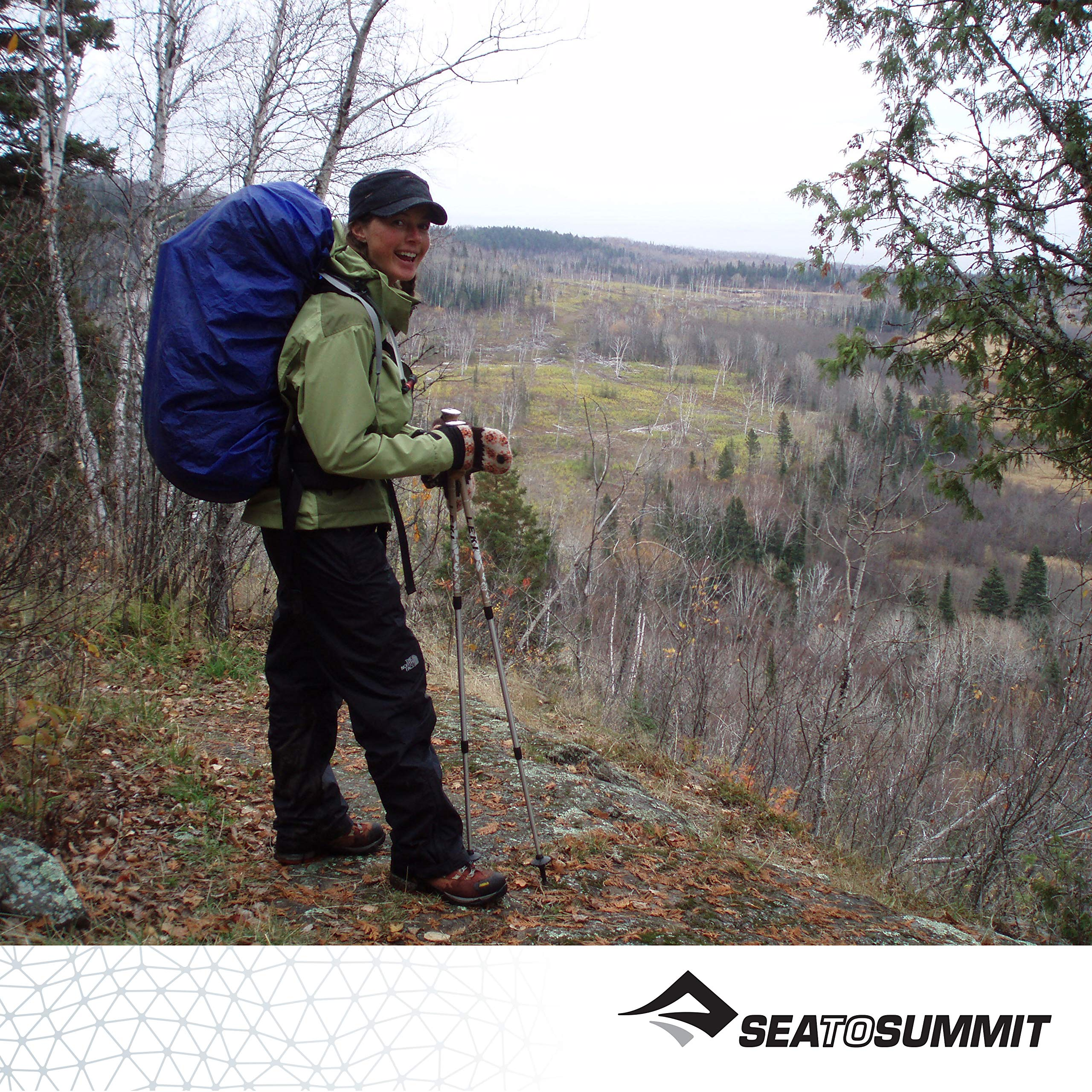 Sea to Summit Ultra-SIL Pack Cover, Forest Green, Medium by Sea to Summit