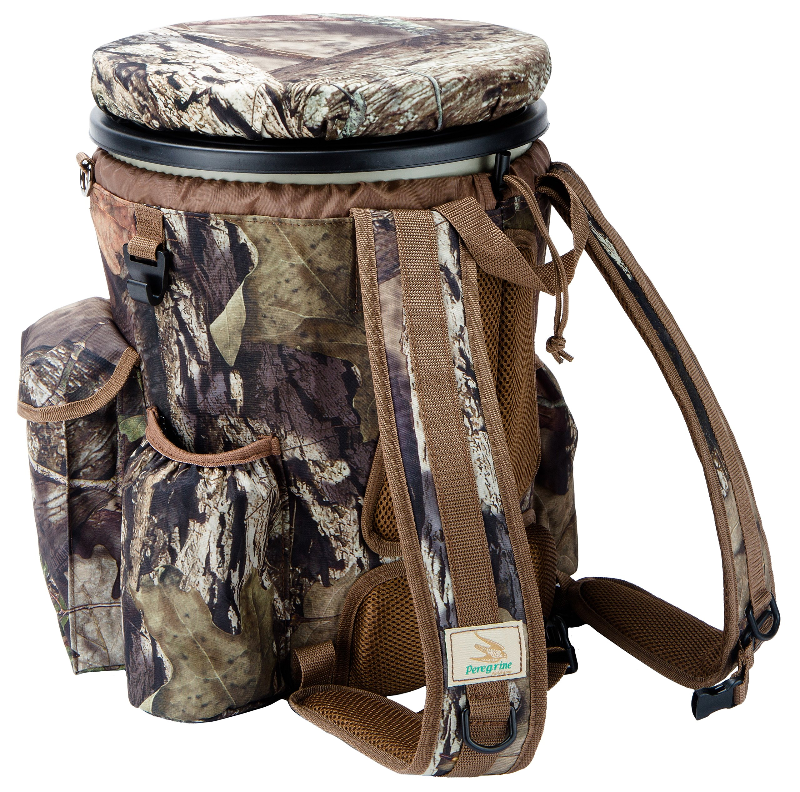 Peregrine Venture Bucket Pack Field Gear Venture Bucket Pack in Break-Up Country, 5 gallon by Peregrine (Image #3)