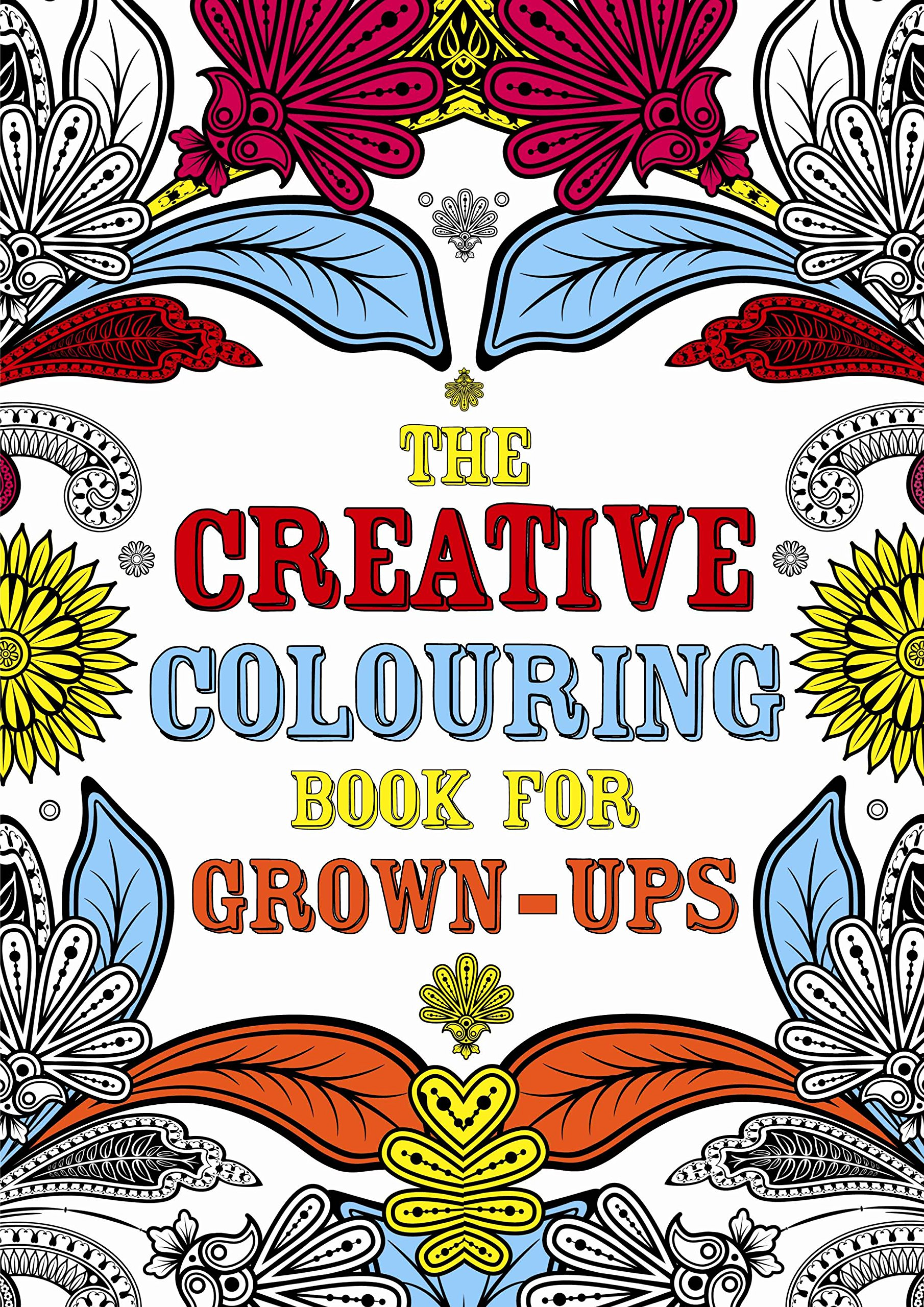 Amazon The Creative Colouring Book For Grown Ups 9781843178699 Michael OMara Books