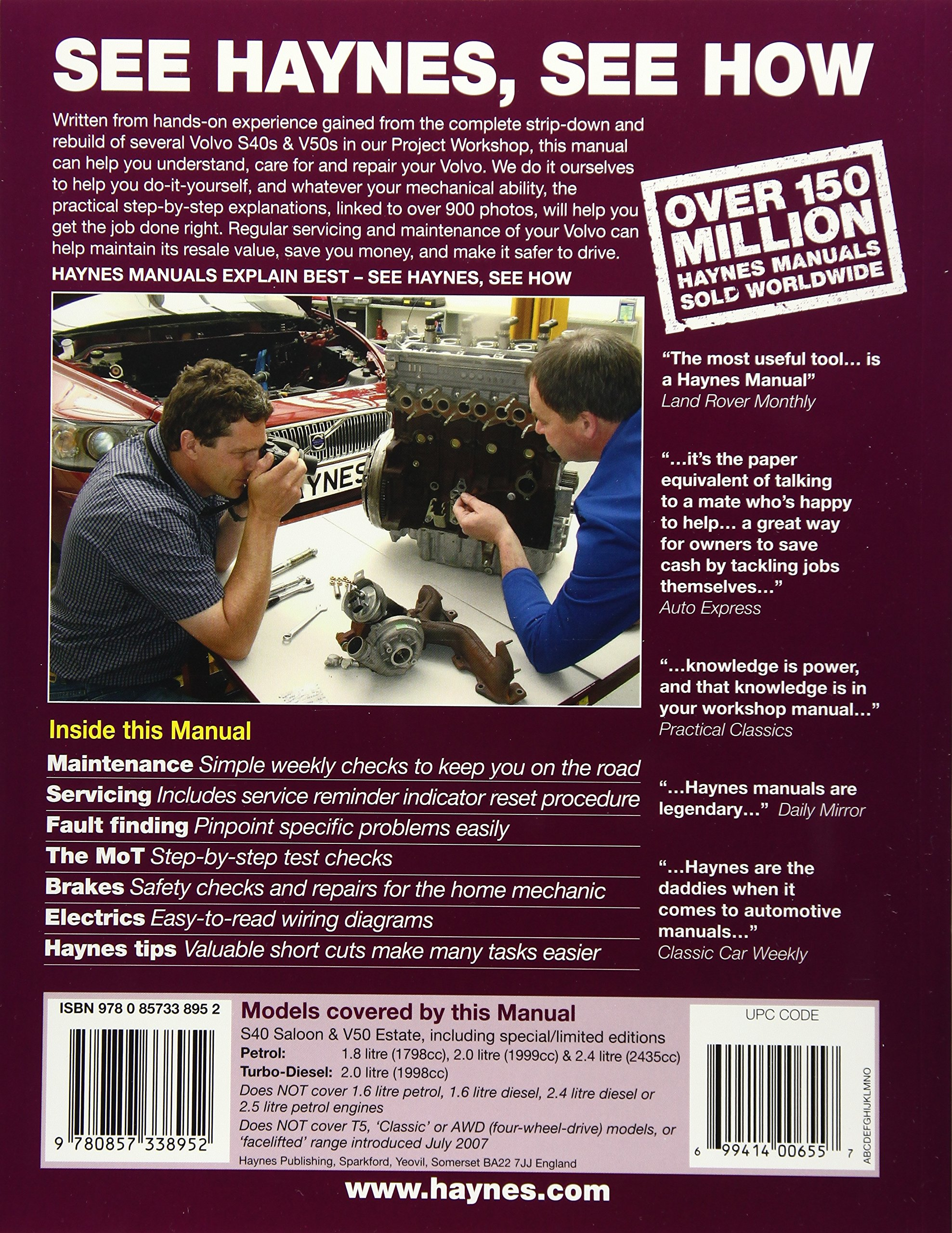 2007 volvo v50 service repair manual software