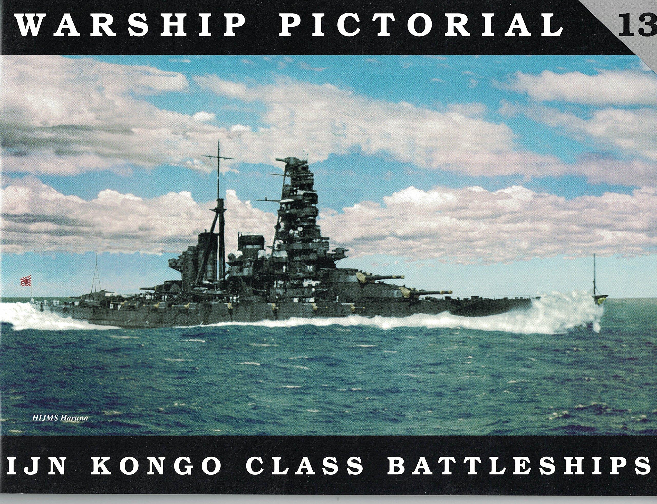 warship-pictorial-no-13-ijn-kongo-class-battleships