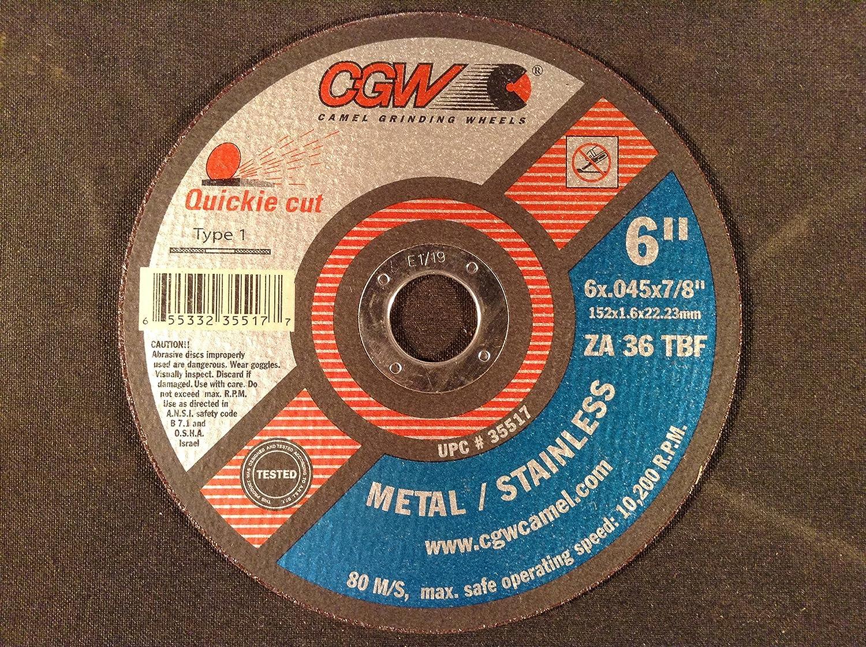 "50pcs  Camel  4-1//2/"" CUT OFF WHEELS Metal Cutting DISCS ANGLE GRINDER GRINDING"