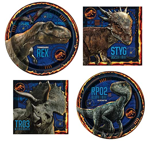 Jurassic World Party Bundles for 8 Guests