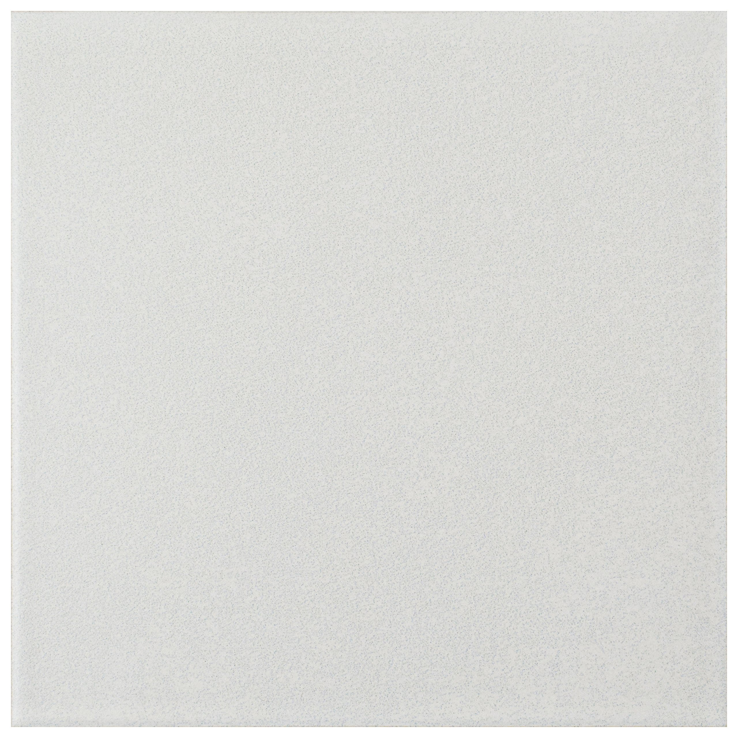 SomerTile FRC8TWEW Fifties Ceramic Floor and Wall Tile, 7.75'' x 7.75'', White