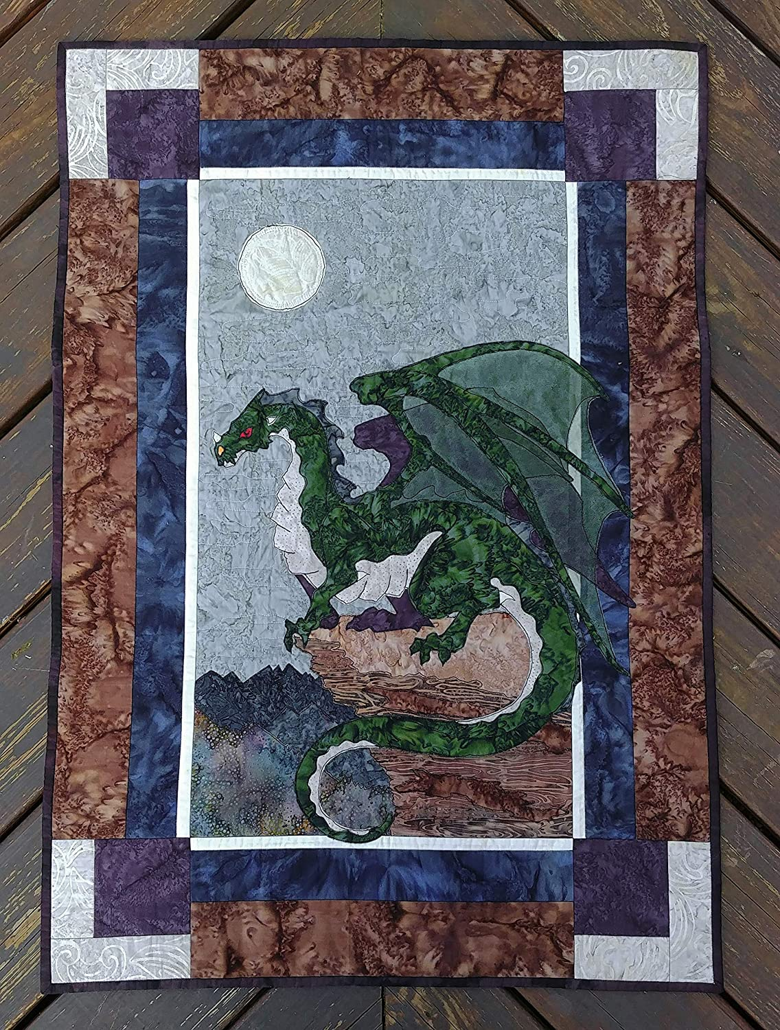 Image of 26'x38' Elemental Earth Dragon Wall Hanging Home and Kitchen