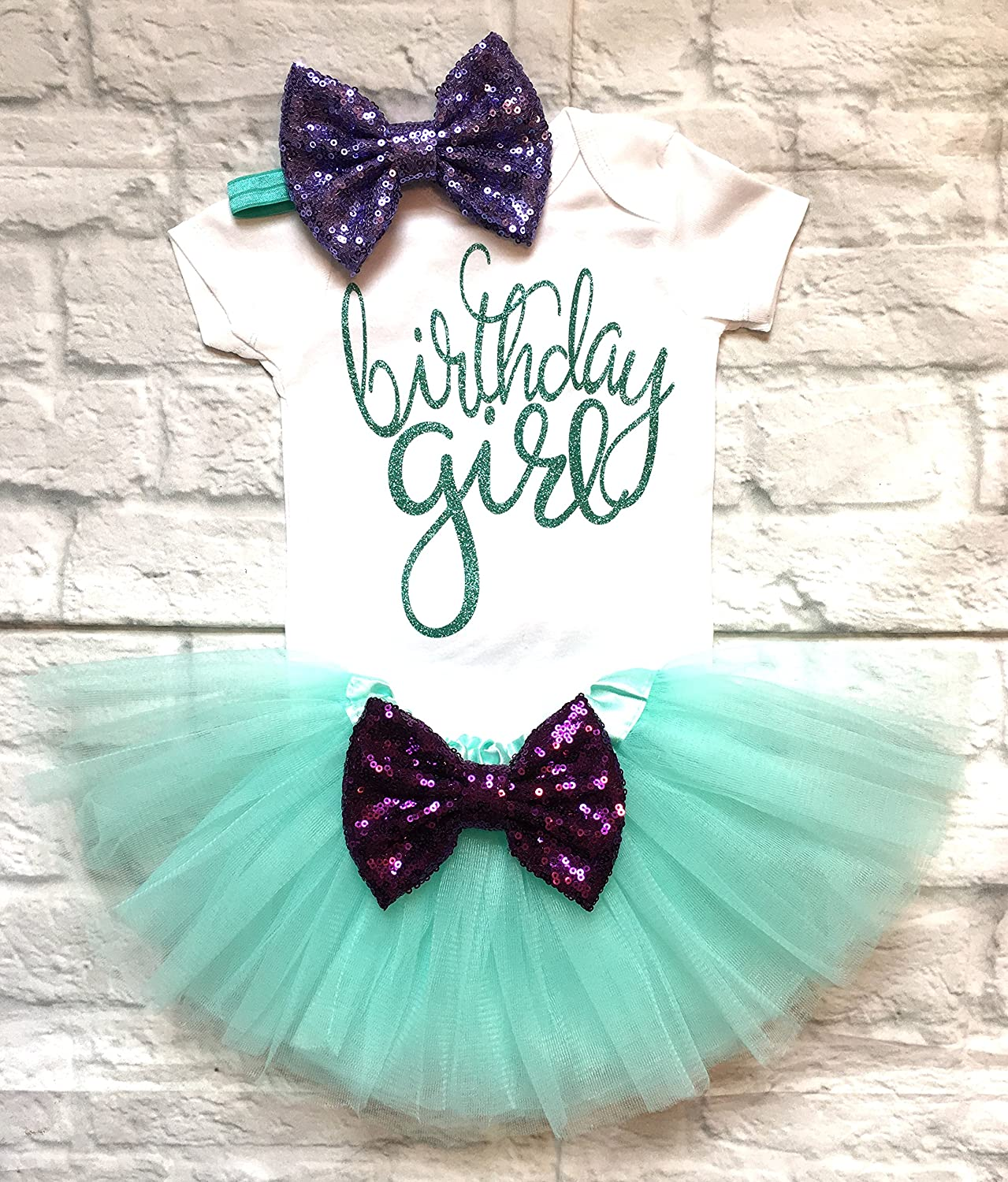 Mermaid First Birthday Girl Outfit, Baby Girl First Birthday Outfit Mermaid 1st Birthday Outfit Girl First Birthday Outfit