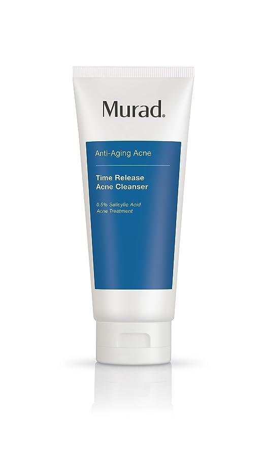 (AUTH) Murad Time Release Acne Cleanser Sữa Rửa Mặt Giảm Mụn Và Ngăn Ngừa Lão Hóa 200ml