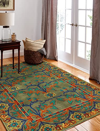 Bashian Wilshire Collection HG122 Hand Tufted 100 Wool Area Rug