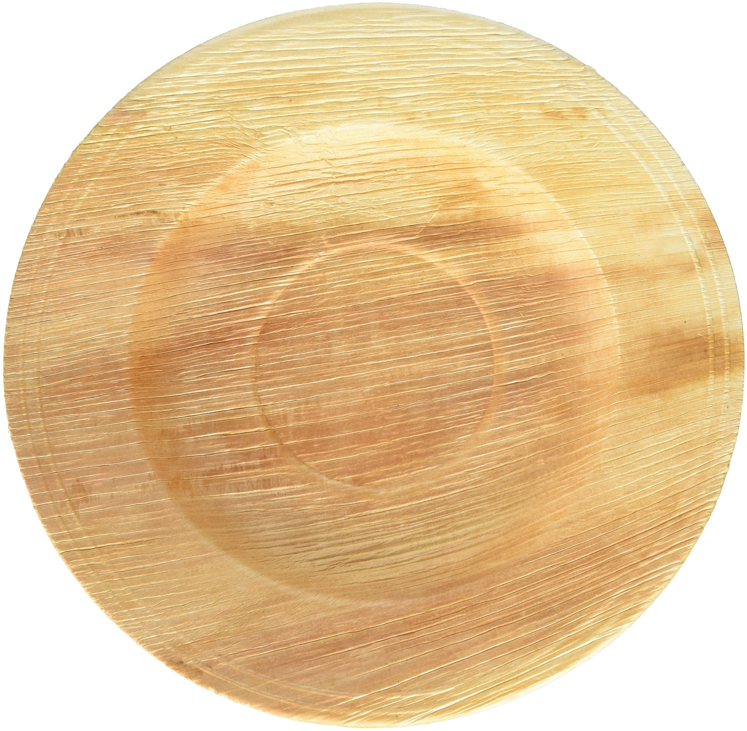 Leafware Deep Pasta Plates (25 Pack), 10'', Natural