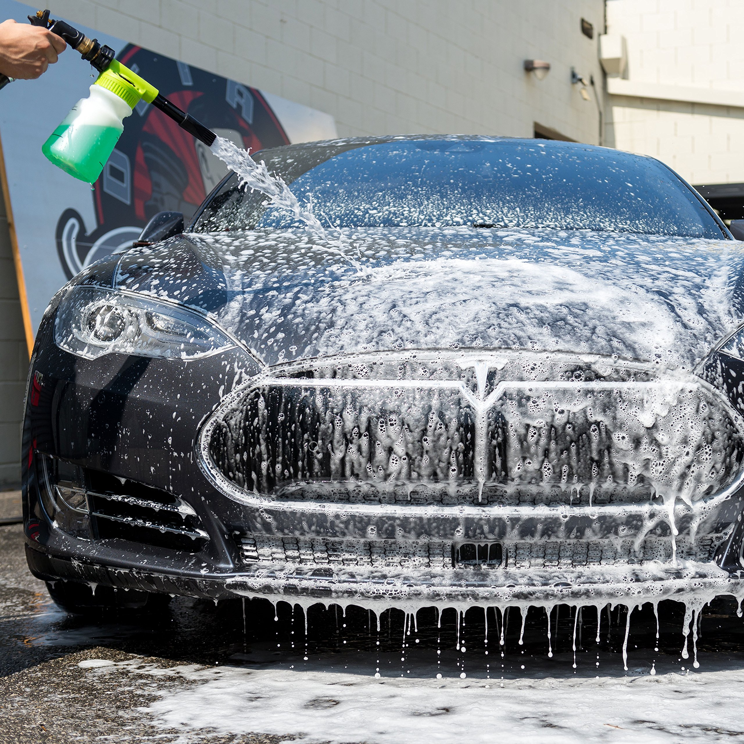 Chemical Guys Acc_326 - TORQ Foam Blaster 6 Foam Wash Gun - The Ultimate Car Wash Foamer That Connects to Any Garden Hose by Chemical Guys (Image #5)