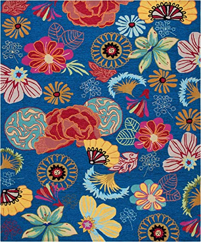 Safavieh Four Seasons Collection FRS470A Hand-Hooked Floral Area Rug