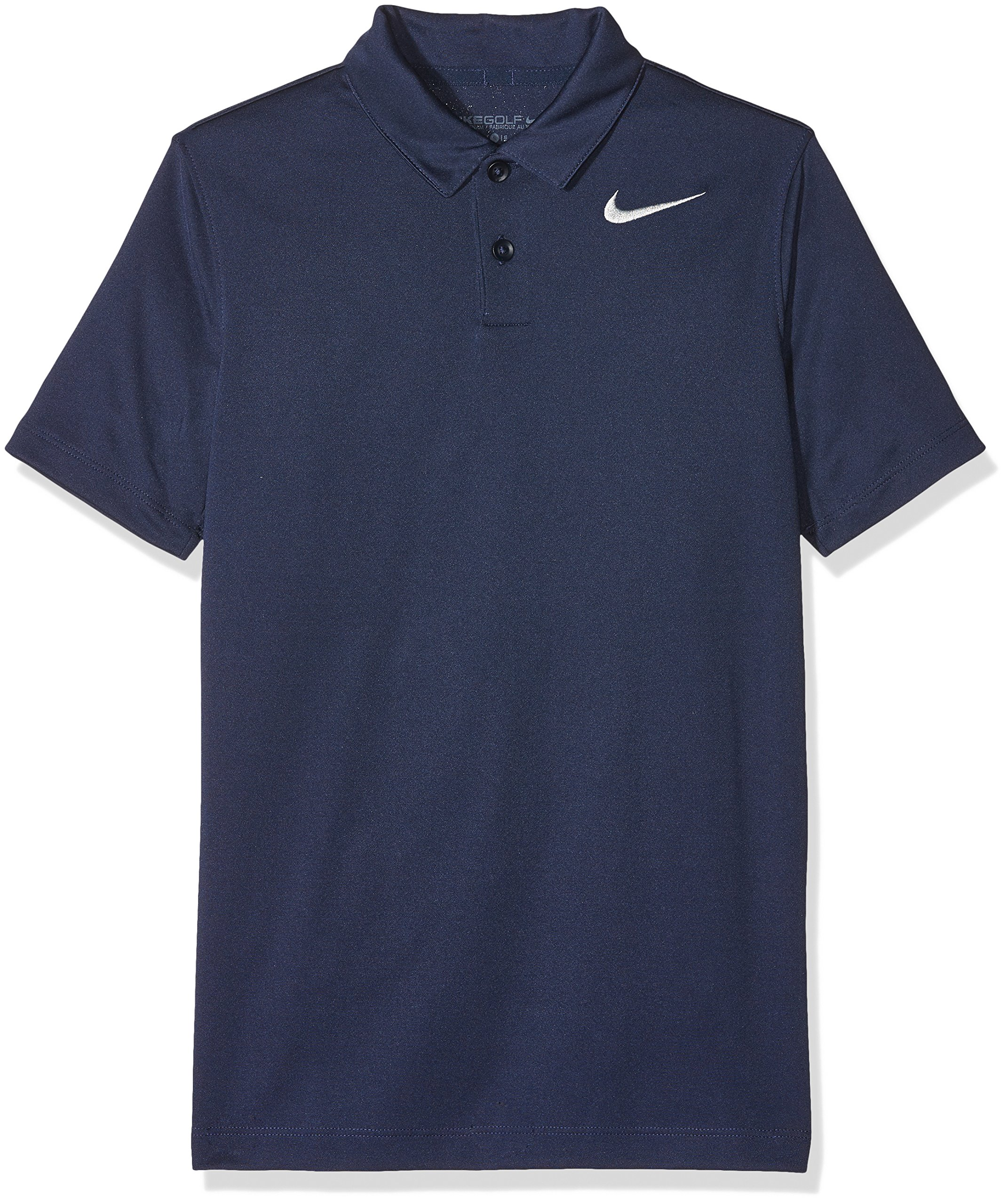 Nike Boys Dry Victory Golf Polo (X-Large, College Navy)