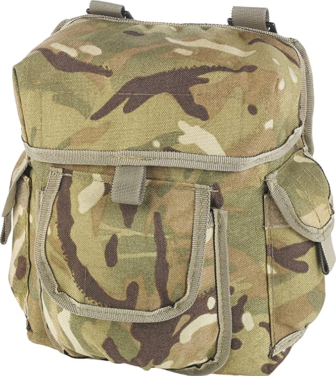 FREE DELIVERY MOLLE POCKET BUDDY POUCH A6-Utility BRITISH ARMY GREEN WEBBING