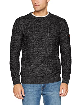 Mens Crew Cable Mouline Jumper Camel Active Choice Cheap Price KvOabwph