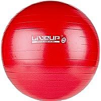 Bola Suiça Premium, 45 cm, Vermelha, LiveUp Sports