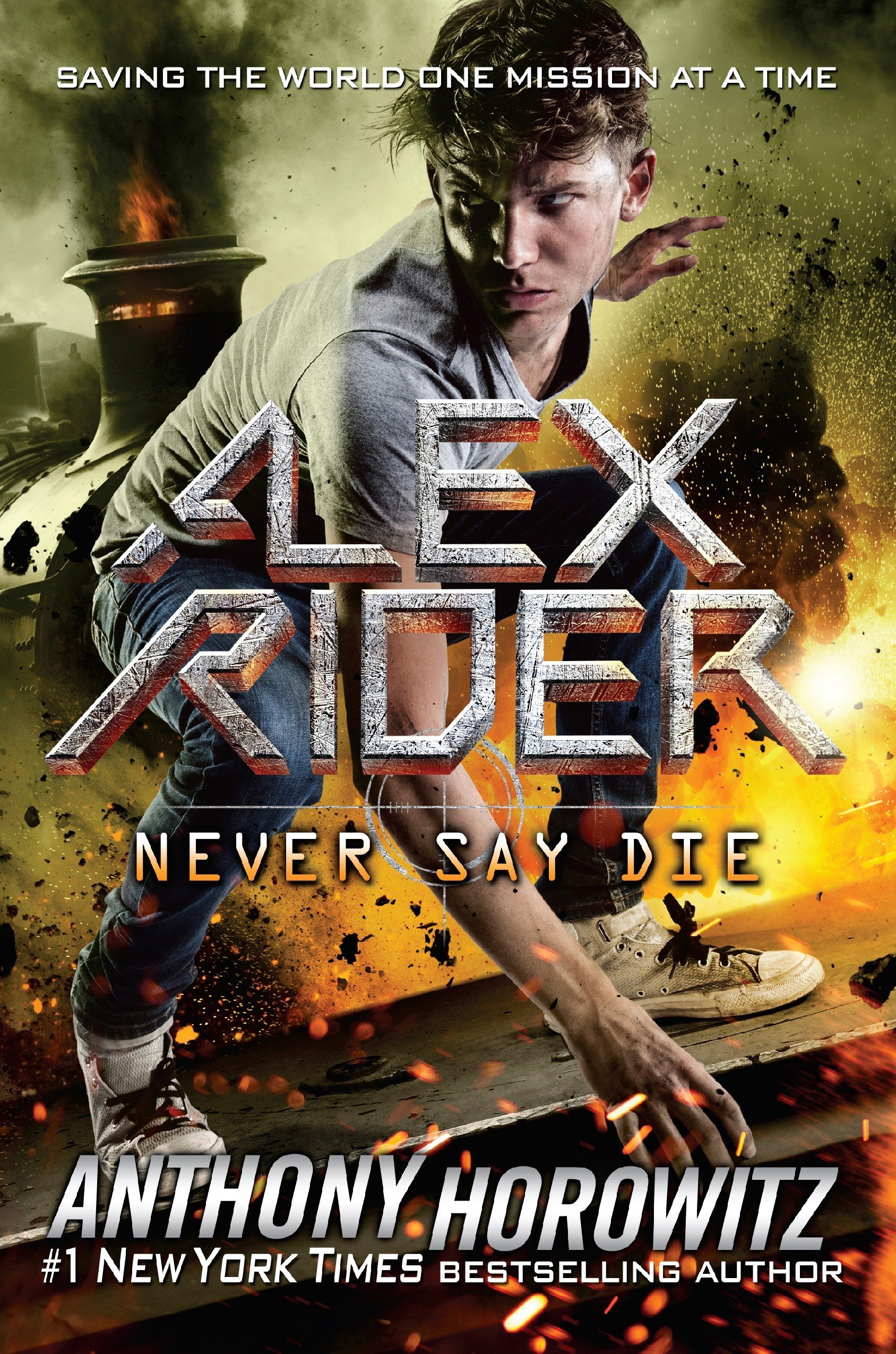 Never Say Die Alex Rider Horowitz Anthony 9781524739300 Books Amazon Ca