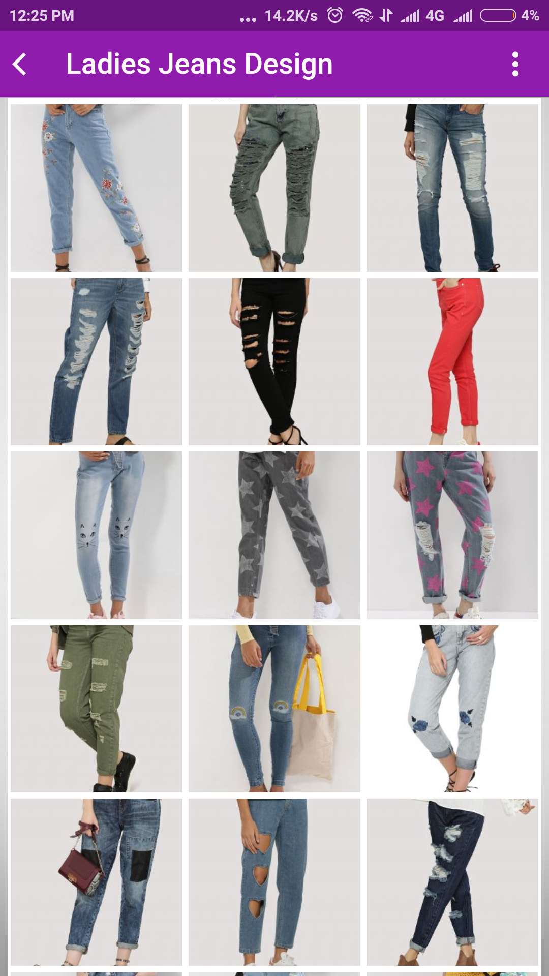 Amazon Com Ladies Trouser Design And Jeans Design