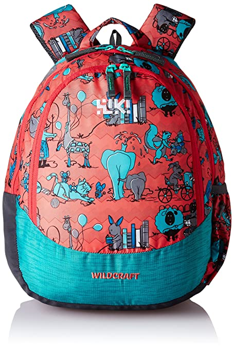 Wildcraft Polyester 14 Ltrs Pink School Backpack Wiki Zoo 2