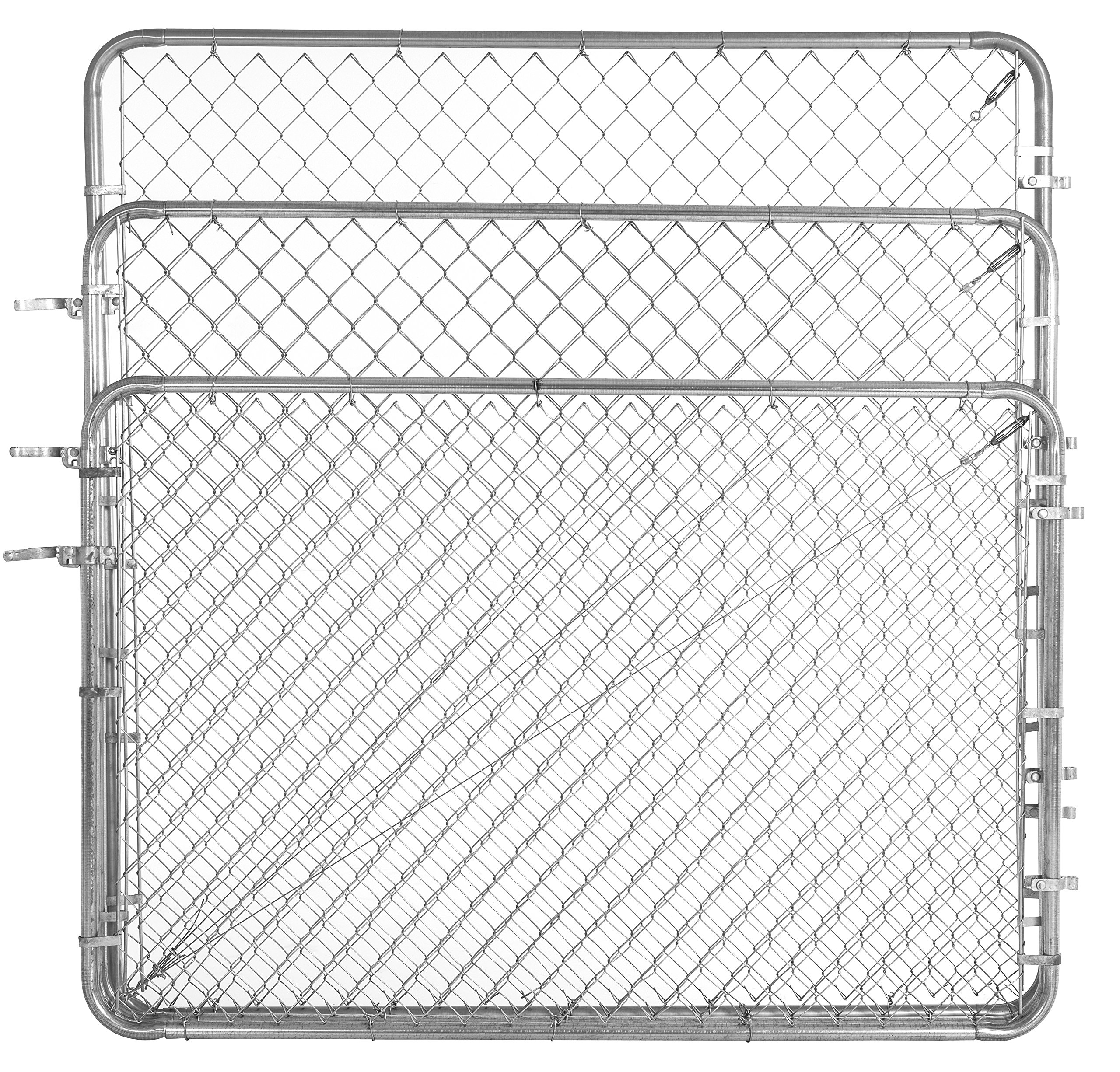 Fit-Right Chain Link Fence Walk-through Gate Kit (24''-72'' wide x 4' high) by Adjust-A-Gate (Image #3)