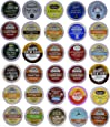 30-count Top Brand Coffee, Tea, Cider, Hot Cocoa and Cappuccino Variety Sampler Pack, Single-Serve Cups for Keurig-Compatible Brewers