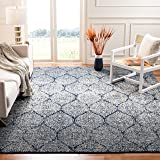Safavieh Madison Collection MAD604G Navy and Silver