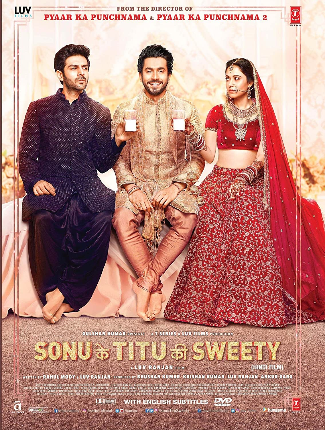 Amazon com: Sonu Ke Titu Ki Sweety Hindi DVD - Latest